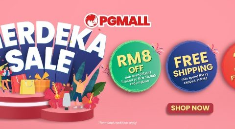 PG Mall Merdeka Day Sales